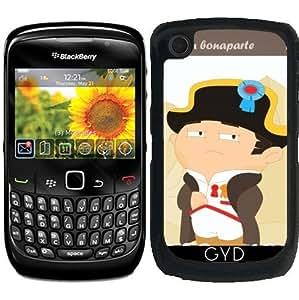 Funda para Blackberry Curve 8520/8530/9300/9330 - Napoleón Bonaparte by Los dibujos de Alapapaju