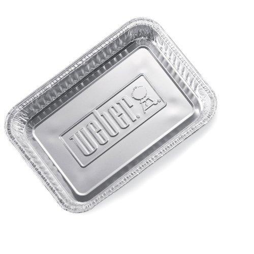Weber Small Drip Pans Aluminum 8.5