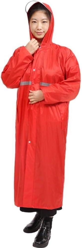 Giacca Spessa Sezione Lunga Siamese Moda Pioggia Allaperto for Adulti Indumenti Impermeabili Equitazione Lungo Escursionismo Poncho Impermeabile Poncho Mens Donne Esterna Impermeabile Rain Jacket