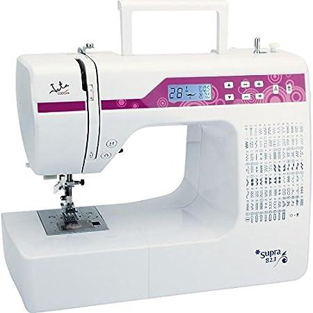 Jata MC823 Máquina de Coser con 200 Diseños de Puntada Visor LCD ...