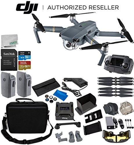 DJI Mavic Pro Collapsible Quadcopter 2-Battery Ultimate Bundle