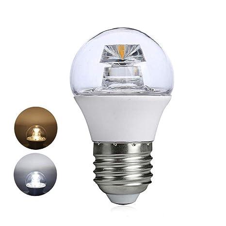 Lámpara LED COB lámpara de araña bombilla LED E14 alto cristalino luminoso 110V 220V E27 para