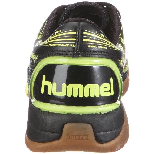Hummel REBEL LEGEND JR. 60257 - Zapatillas de deporte de cuero para niños Gris