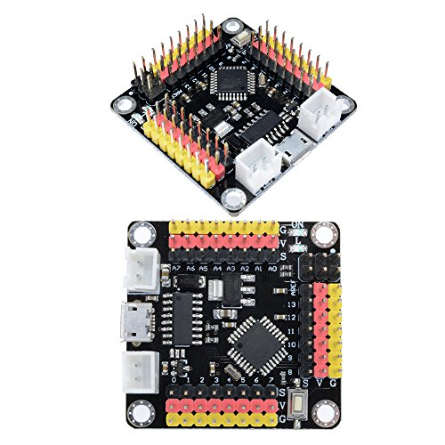 diymore 2PCS CH340 TTL Micro USB NANO V 3.0 Atmega328 Atmega328P Pro Mini Strong Board Microcontroller Module Replace FT232RL for Arduino by diymore