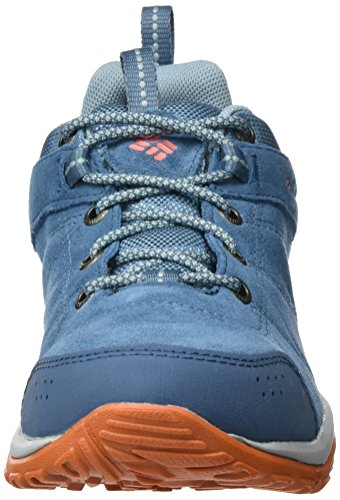 Heron Bleu Multisport Columbia Waterproof Venture Bright Femme Peach Chaussures Fire BL1715 Blue wXzUw0