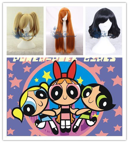 Europe and the cartoon The Powerpuff Girls wig high temperature wire]()