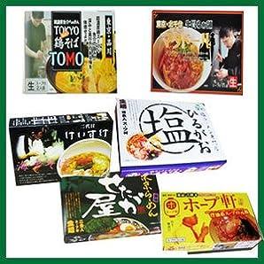 東京 選りすぐり 有名店 ラーメン 6店舗12食セット (TOMO マタドール ホープ軒 せたが屋 ひるがお けいすけ)
