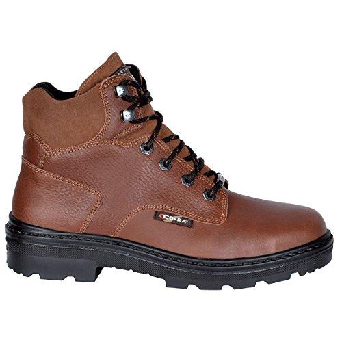 "Cofra 25670–002.w42Talla 42""Erie bis S3SRC–zapatos de seguridad–Brown"