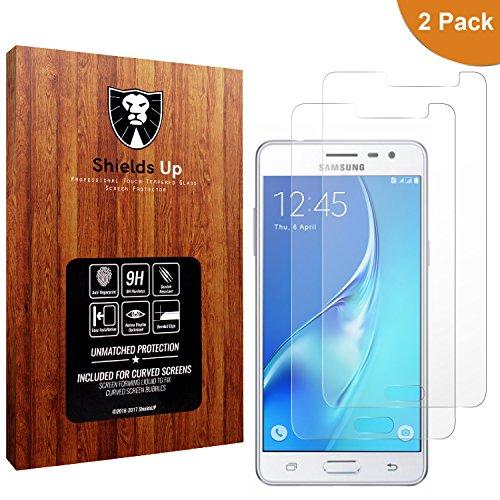 Cheap Screen Protectors [2 Pack] Galaxy J3 luna pro/J3 Emerge Screen Protector,Shields Up Bubble Free,0.3mm..