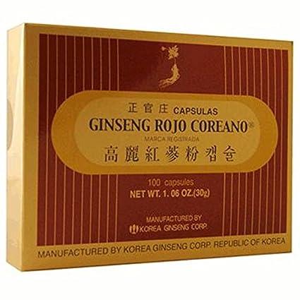 Ginseng 100 Cápsulas de Grc