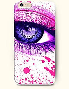 OFFIT iPhone 6 Plus Case 5.5 Inches Soft Blue Eye