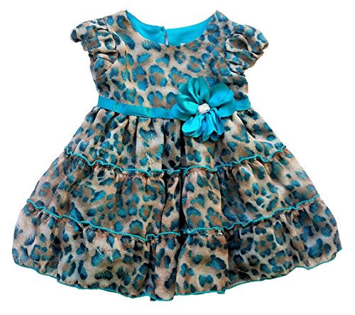 cheetah dresses for toddlers - 1