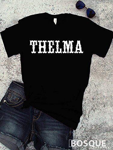 Thelma Style T-Shirt Distressed Thelma and Louise movie inspired Shirt Distressed Country Southern Style Tee - Ink Printed