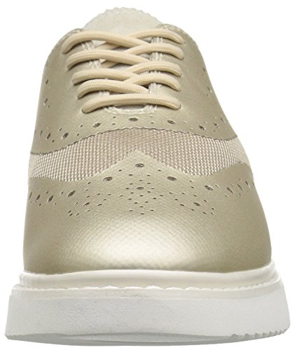 Geox Damen D Thymar B Sneakers Beige (lt Oro / Lt Taupec2lh6)