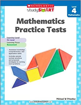 Book Mathematics Practice Tests, Level 4 (Scholastic Study Smart)