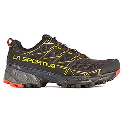 La Sportiva Men's Akyra Mountain Running Shoe, Black, 40 M EU