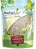 Organic Sunflower Seeds by Food to Live (Raw, Kernels, No Shell, Kosher, Bulk) — 1 Pound