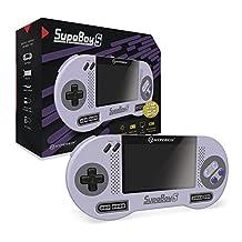Hyperkin M08889 SupaBoy S-Portable Pocket SNES Console