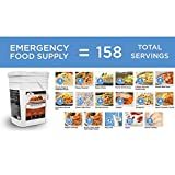 Wise 158-Serving Ultimate Emergency Meal Preparedness Bucket