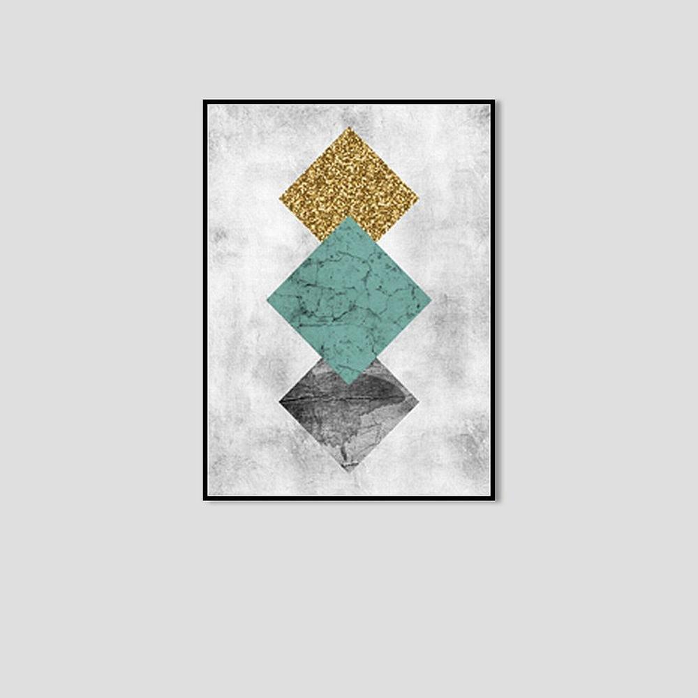 autentico en linea DIDIDD Cuadro Decorativo Abstracto Gráfico Creativo Creativo Creativo Simple Encajonado,Mi,50  70cm  promociones de equipo