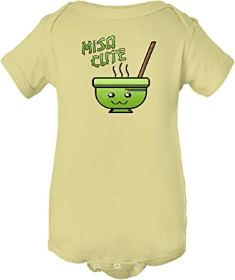 TooLoud Cute Miso Soup Bowl Baby Romper Bodysuit