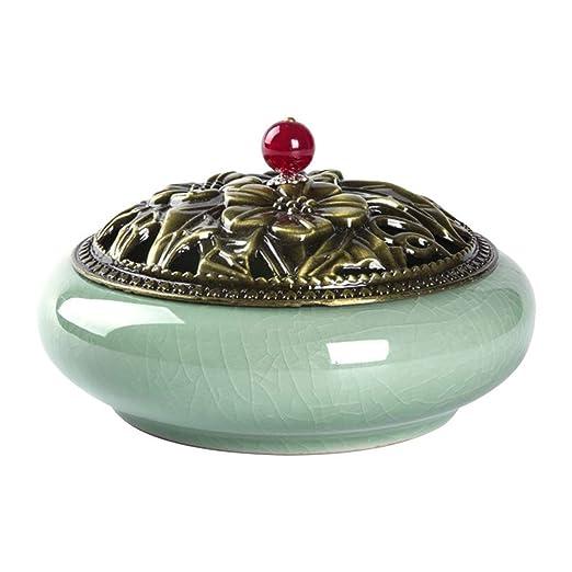 Tianba - Recipiente de cerámica para Mosquitos, cenicero, Hierro ...