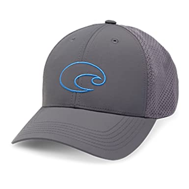 f4ea71b892b4e best price costa nantucket trucker hat c55ae 92bb2  best price costa del mar  structured performance logo hat grey 408ca ef0ff