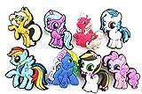 8pcs My Little Pony