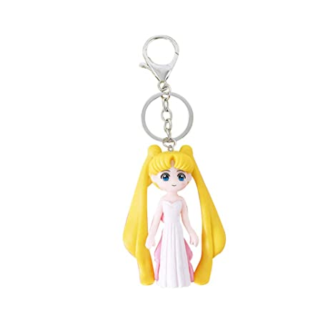 SGOT Llavero Anime Sailor Moon de PVC, Figura de Metal ...
