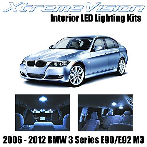 XtremeVision BMW 3 Series E90 E92 M3 2006-2012 (14 Pieces) Cool White Premium Interior LED Kit Package + Installation ()