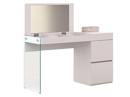Laquer furniture Korean Image Unavailable Amazoncom Amazoncom Casabianca Furniture Il Vetro Collection Lacquer Vanity
