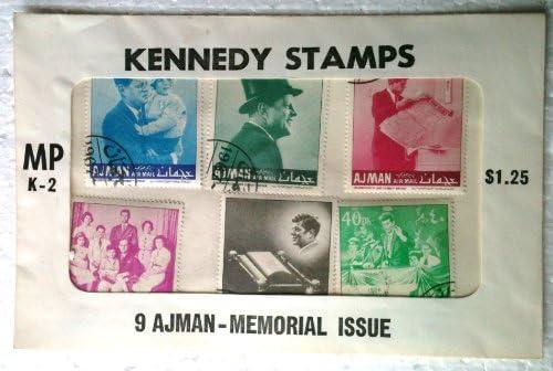 Amazon.com: 1967 Ajman Memorial Cuestión de John F. Kennedy ...