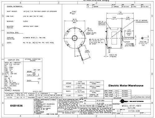 Ge 5kcp39eg Replacement Motor Diagram - Simple Wiring