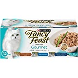Purina Fancy Feast Gourmet Wet Cat Food Variety Pack - 85 g (12 Pack)