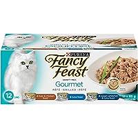 Purina Fancy Feast Gourmet Wet Cat Food Variety Pack - 85 g (12 Pack)
