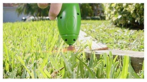 JuiciaTrendz Zip Trim Cordless Trimmer & Edger Works with standard Zip Ties Garden weed cutter Cordless mower trimmer