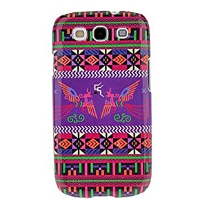PEACH Pair of Phoenixes Pattern Protective Hard Back Cover Case for Samsung Galaxy S3 I9300