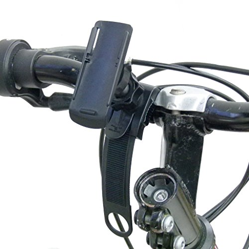 Locking Strap Cycle Bike Mount and Cradle for Garmin Oregon 200 GPS (sku 30154)