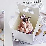 "Newbested 50 Pack 3"" Mini Individual White Cupcake"