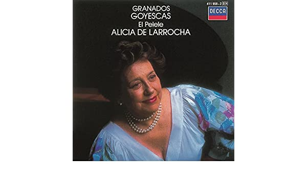 El Pelele (Escena Goyesca) by Alicia De Larrocha on Amazon Music - Amazon.com