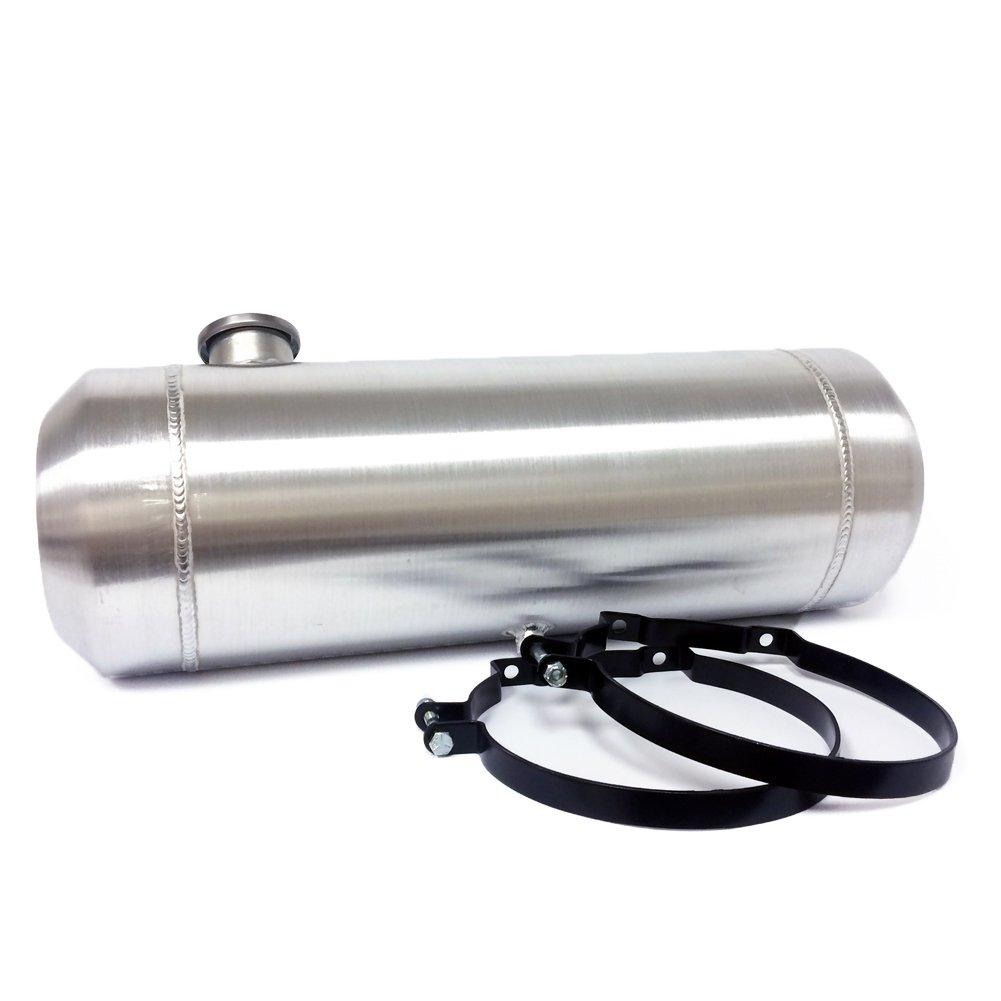 10x33 Round End Filler Spun Aluminum Gas Tank - 11 Gallons -Dune Buggy- 1/4 NPT JSD AUTOPARTS
