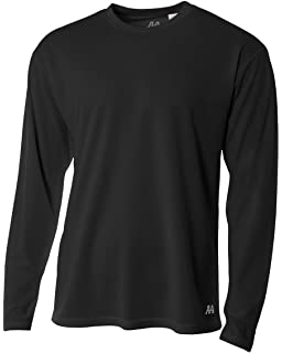 Amazon.com: Augusta Sportswear MEN'S WICKING LONG SLEEVE T-SHIRT ...