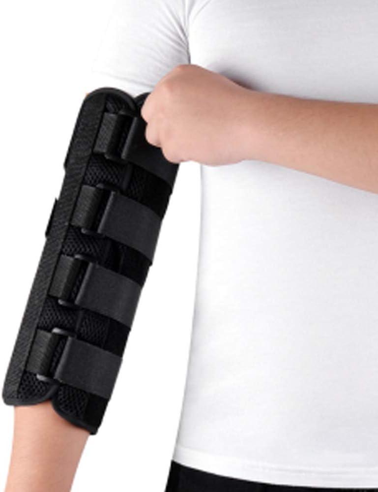 WXMYOZR Codo Férula Brazo Ortopédico Inmovilizador del Miembro Superior Articulación del Codo Corrección Brace Ajustable para Lesiones De Fractura Cubital Estabilizador T&u
