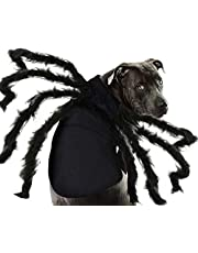 Halloween Costume for Pets Dogs Spiders Sweatshirt Cosplay Apparel Clothes Pets Dogs Halloween Funny Dog Puppies Theme Party Costume for Medium Large Dog Costume