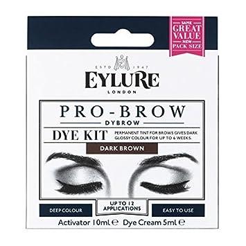 Eylure DYBROW Eyebrow Dye Kit, Dark Brown: Amazon.co.uk: Beauty