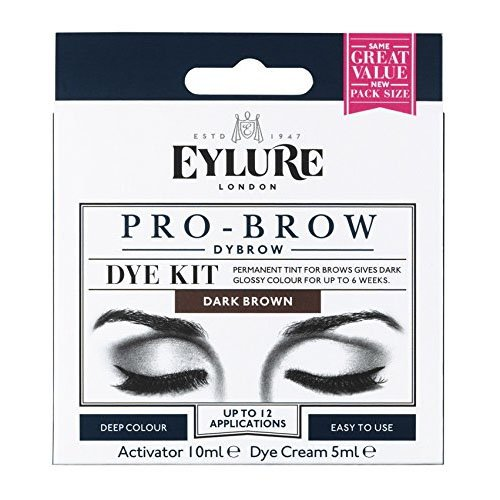 Eylure Pro Brow Dye Kit - Brown (Best Drugstore Brow Kit)