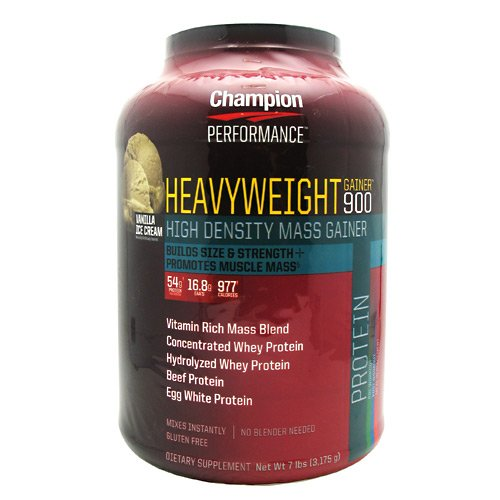 Champion Nutrition Heavyweight Gainer 900 Vanilla Shake, 7 Lb by Champion Nutrition