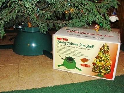 amazon com fresh cut christmas tree rotating stand rcts mr home