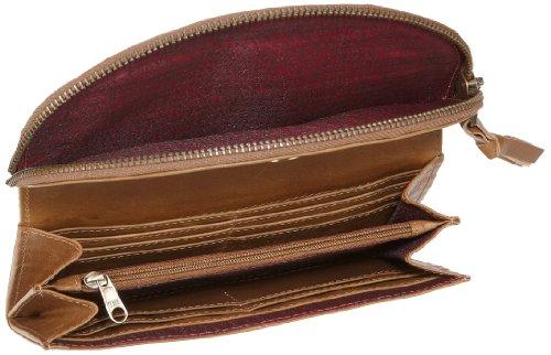 Bruno Banani 45 W 320.726, Damen Portemonnaies, Beige (cognac), 3x10x19 cm (B x H x T) Beige/Cognac