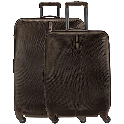 Delsey Schedule valigia a 4 ruote (set di 2) Bronze